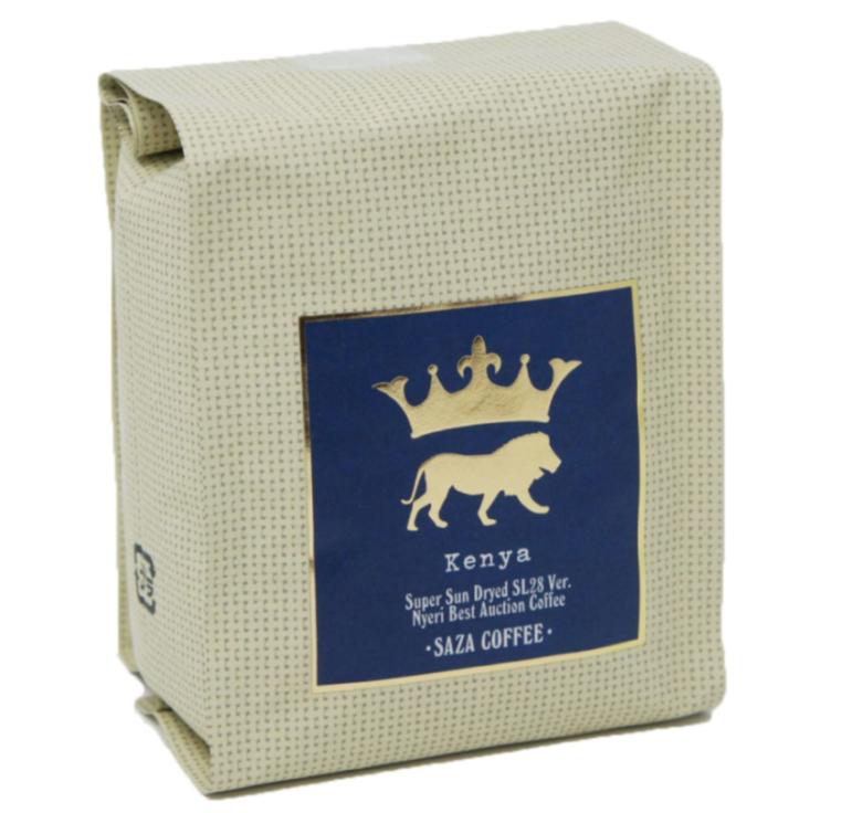 おすすめのケニアコーヒーならこれ「サザコーヒー レギュラーコーヒー ケニア 豆 200g」