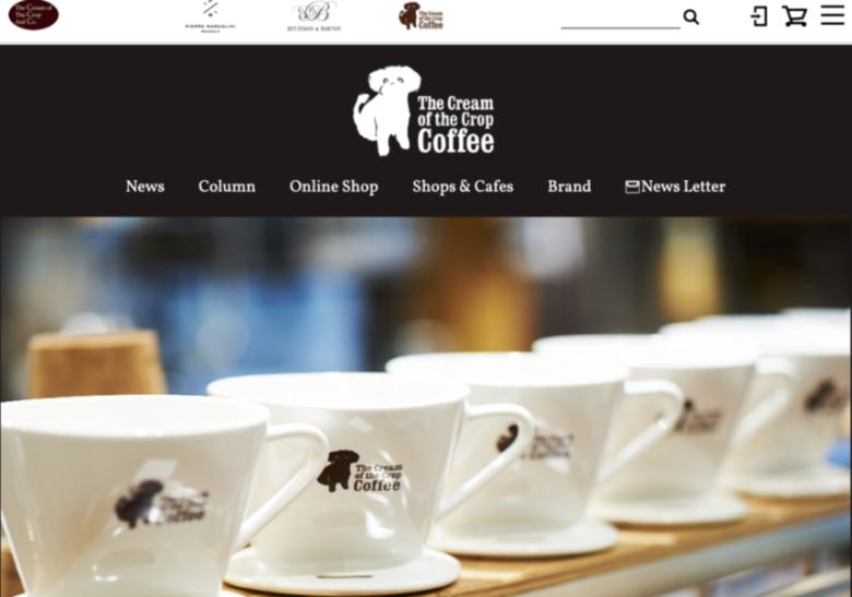 ショップ:THE CREAM OF THE CROP COFFEE