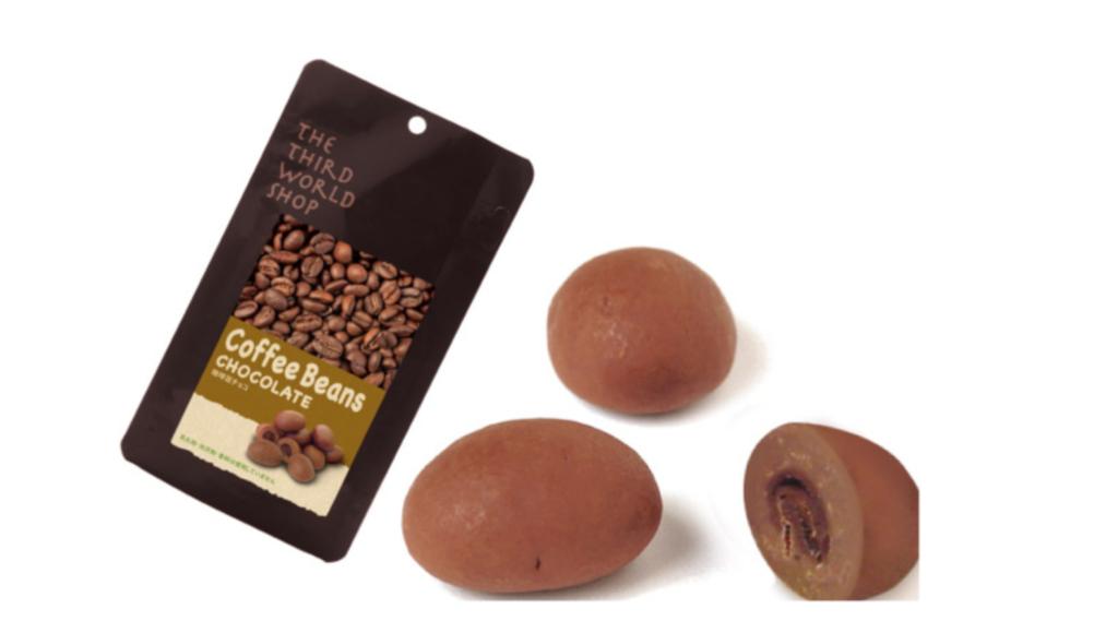 代世界ショップ フェアトレード珈琲豆チョコ