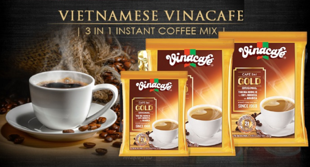 3. インスタントの中で最も歴史あるベトナムコーヒー「ヴィナカフェ ビエンホア社 Vinacafe」