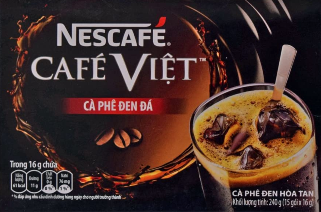 2. とにかく濃く甘いベトナムコーヒー「Nescafe CAFÉ VIET」