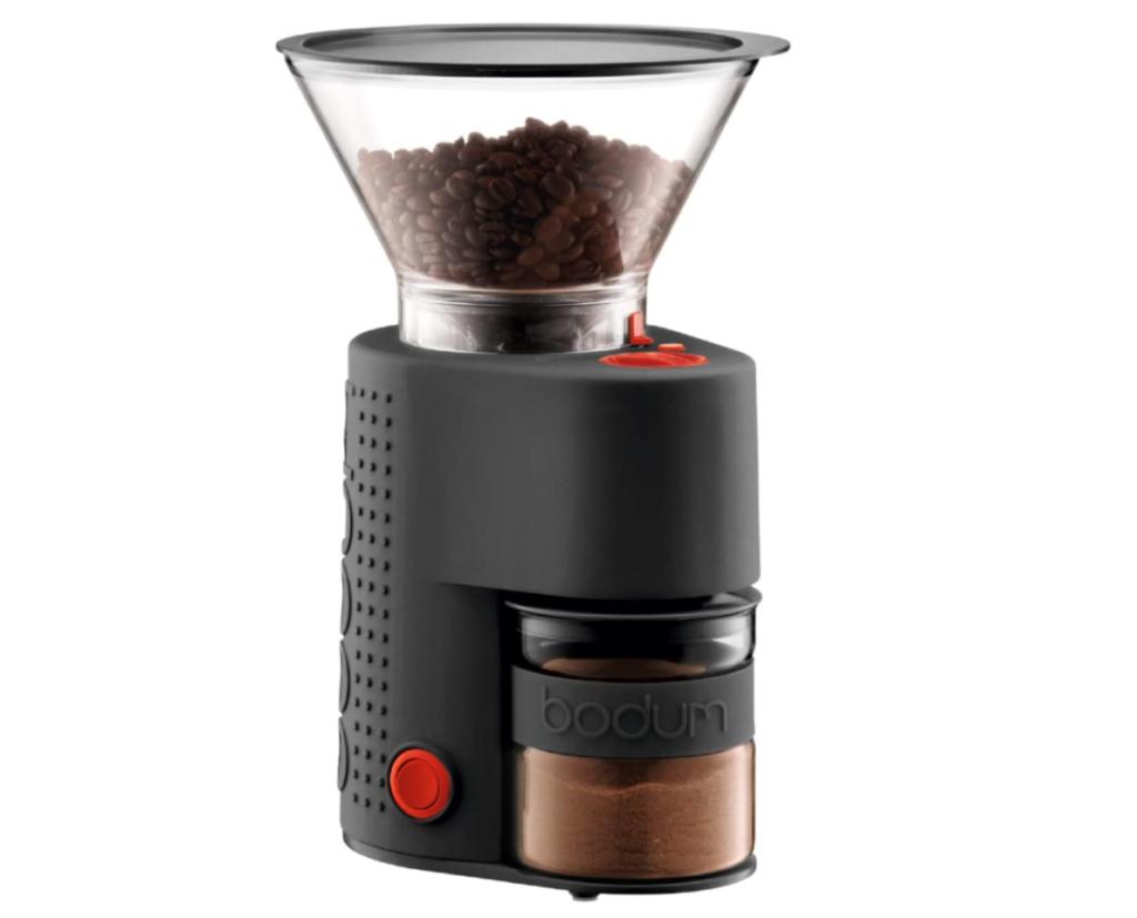 6. お手入れ簡単なコーヒーミル「BODUM BISTRO 電動コーヒーグラインダー」