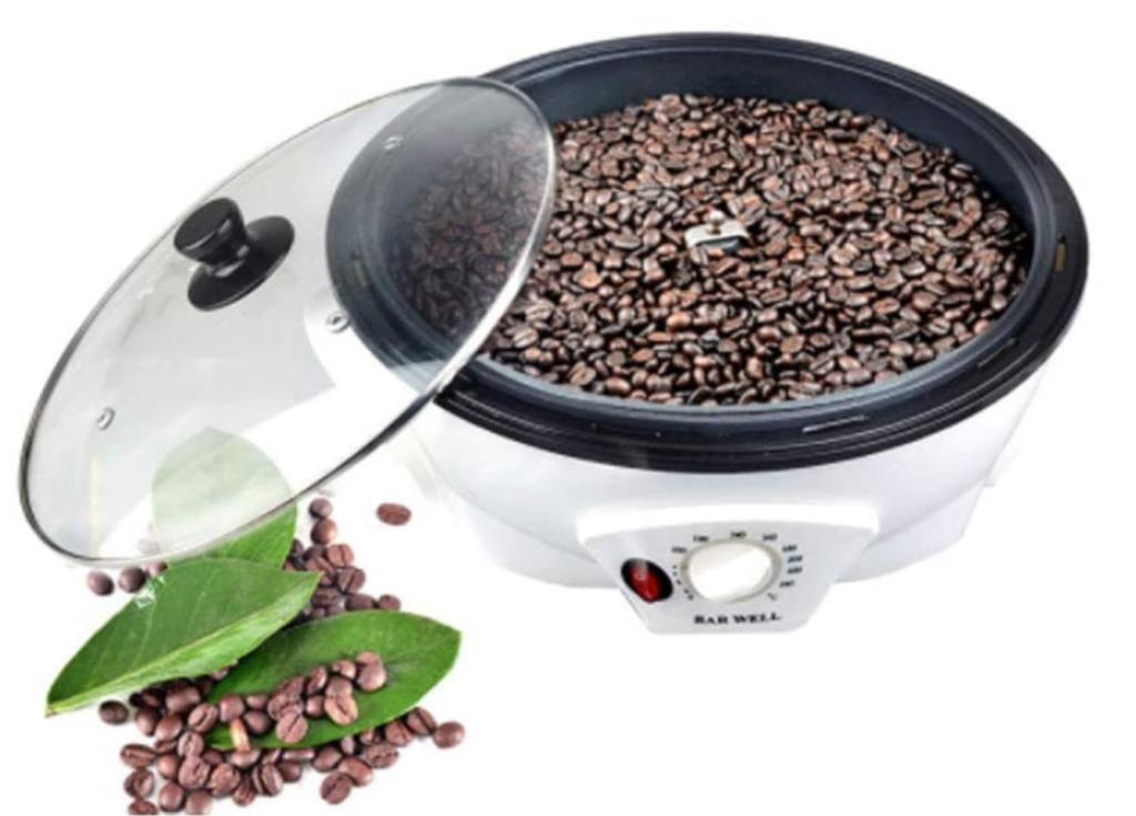 5.【家庭用】コーヒー焙煎機ならこれ!変圧器必要なしで手軽「YZHDQ 電動コーヒー焙煎機」