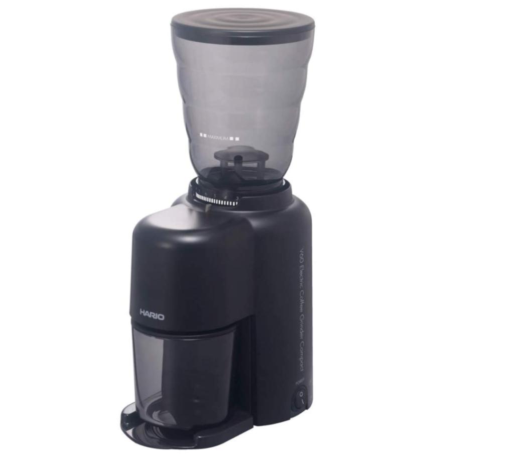 5. ドリッパーのために作られたコーヒーミル「ハリオ V60電動コーヒーグラインダー EVCG-8B-J」
