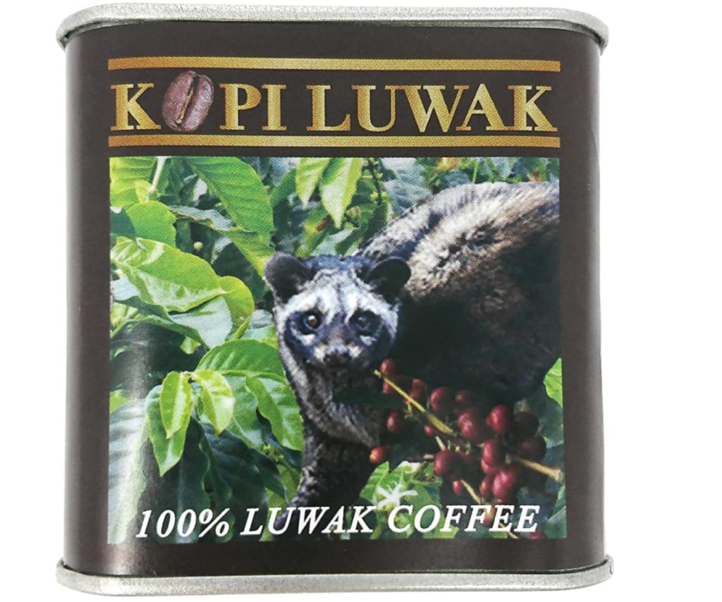第3位. インドネシア産の高級コーヒー豆「コピ・ルアク」