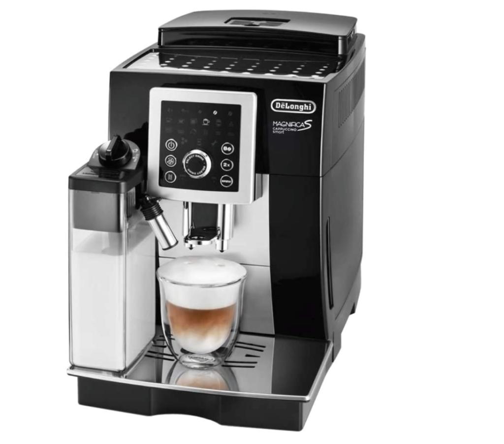 4. 全自動でミルクフォームを作れるエスプレッソ式コーヒーメーカー「マグニフィカS カプチーノスマート」