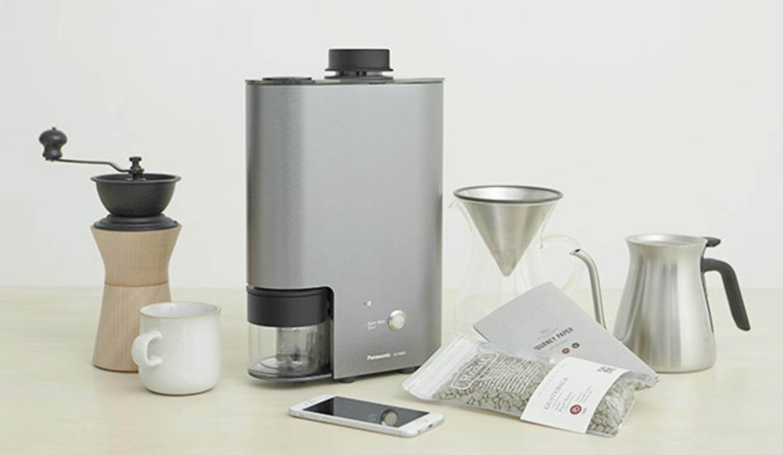 1.【家庭用】ムラのない焙煎が出来るコーヒー焙煎機「パナソニック The Roast」