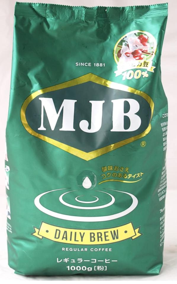 5. コストコのコーヒー豆なら!酸味を抑えた味わい「MJB デイリーブリュー」