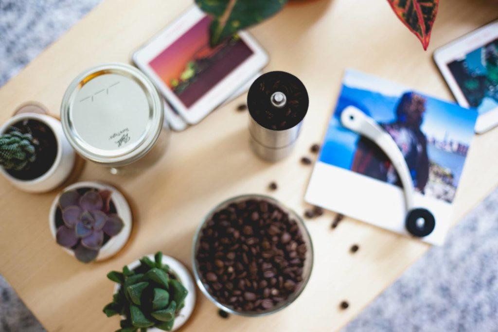 ミル付きコーヒーメーカーの使い方