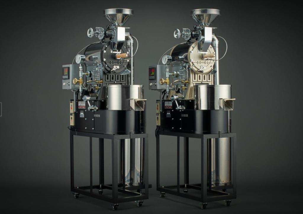6.【業務用】コンパクトな本格コーヒー焙煎機「フジローヤル R-101 1kgタイプ」