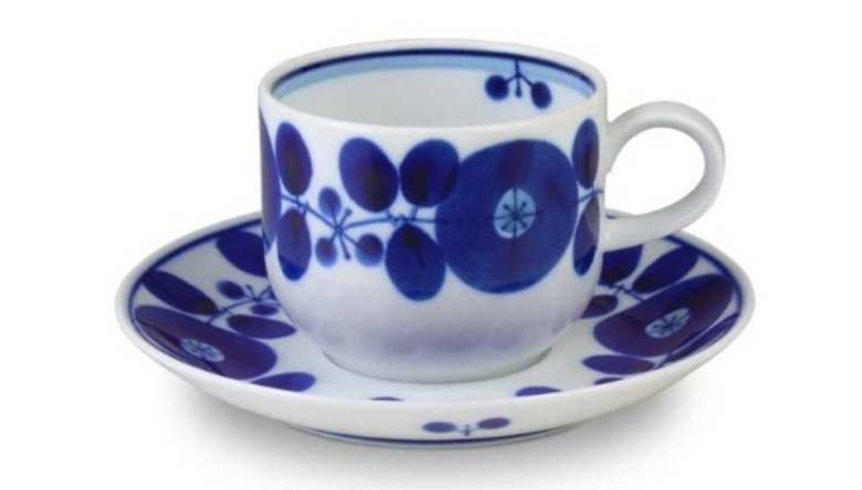 白山陶器 コーヒーカップ&ソーサー ブルーム
