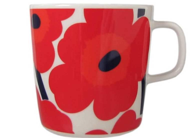 マリメッコ ウニッコ コーヒーカップ