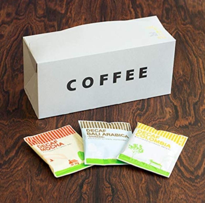 6. 女性に嬉しいコーヒーギフトセット「辻本珈琲 カフェインレスコーヒー」