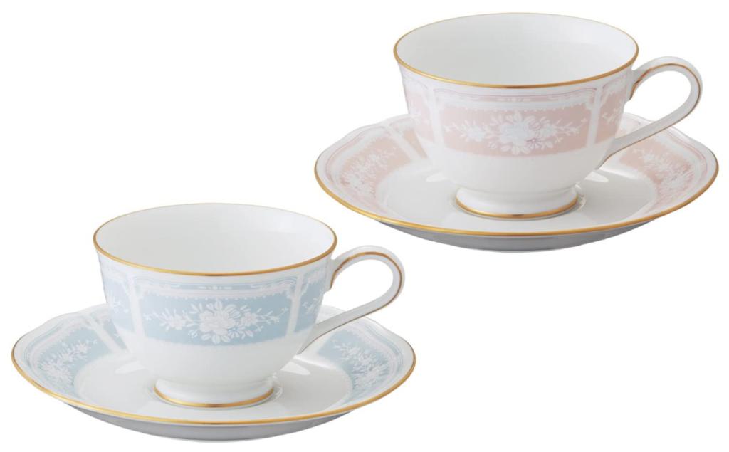 ノリタケ コーヒー碗皿ペアセット Y6578A/1507-14