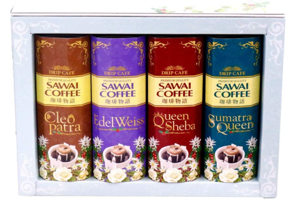 9. 美しく梱包された本のようなコーヒーギフト「澤井珈琲 珈琲物語・華」