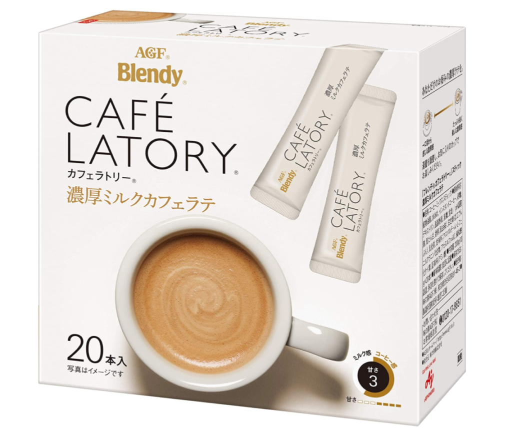 AGF ブレンディ カフェラトリー 濃厚ミルクカフェラテ