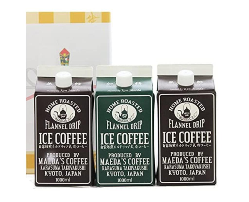 8. アイスコーヒーに合うコーヒーギフト!手間が少ない「前田珈琲 ネルドリップ リキッドコーヒー」