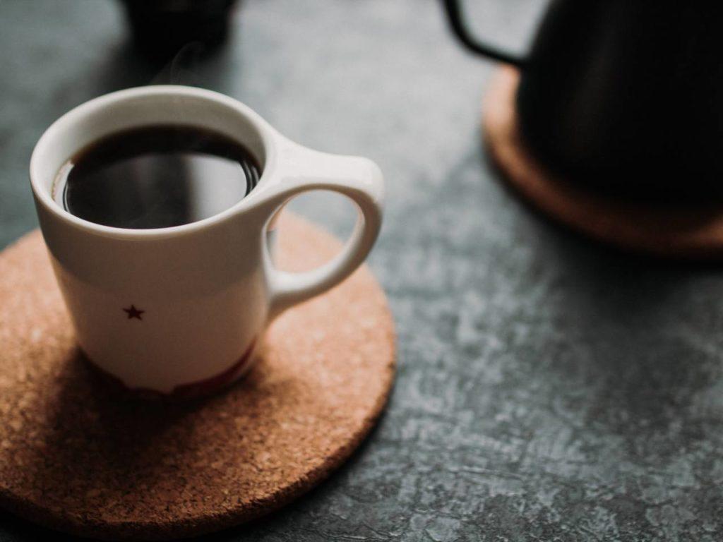 お湯の温度でコーヒーの濃度が変化する