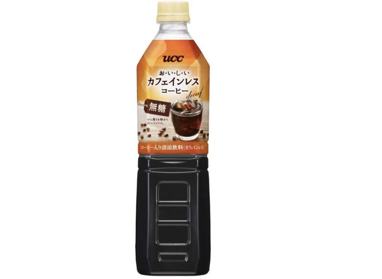 UCC おいしいカフェインレス ボトルコーヒー 無糖 ペットボトル