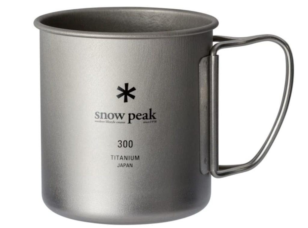 スノーピーク チタンシングルマグ 300 フォールディングハンドル