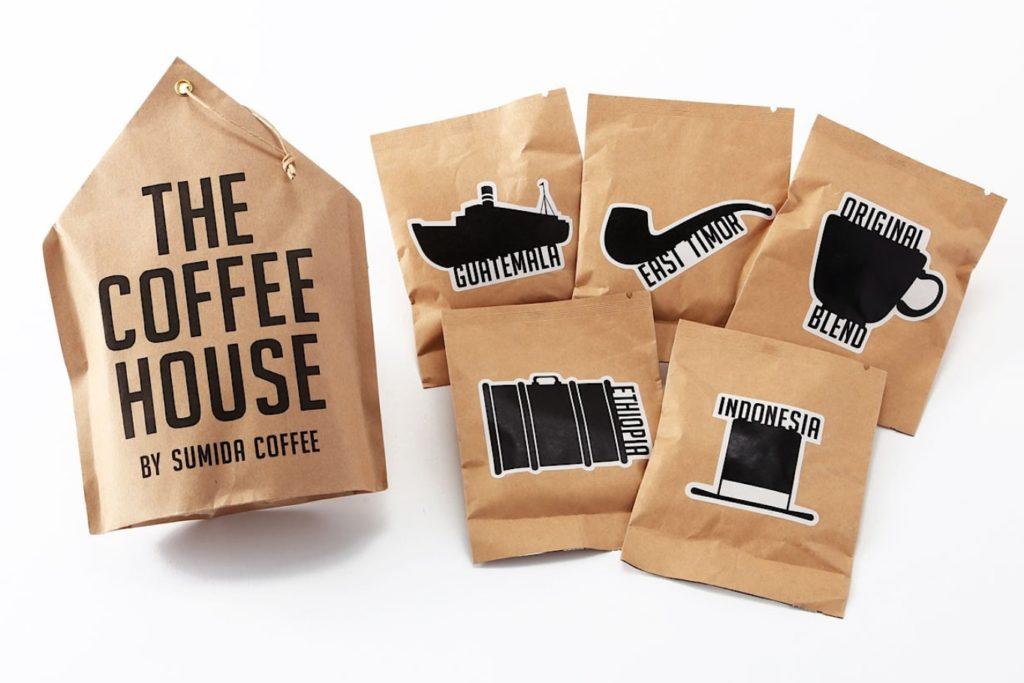 すみだ珈琲 世界のコーヒーバッグセット