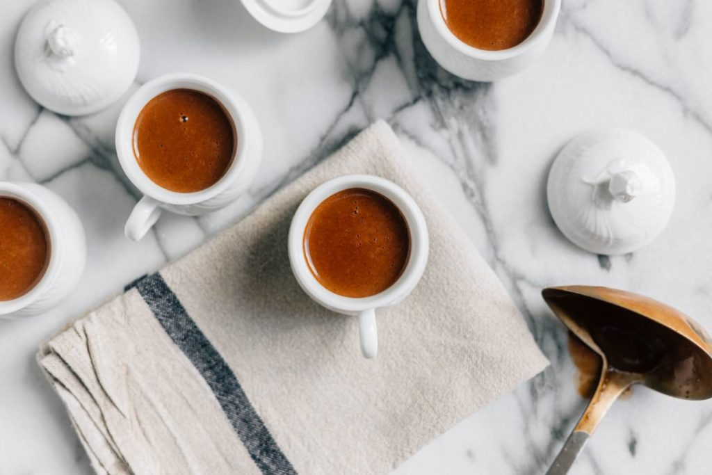 コーヒーとチョコレートの効果