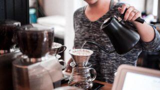 コーヒードリップ向けの電気ケトルは色々便利!