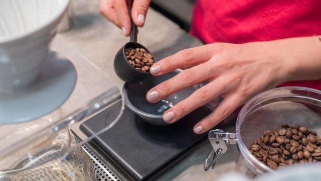 コーヒー豆の量で味は変わる