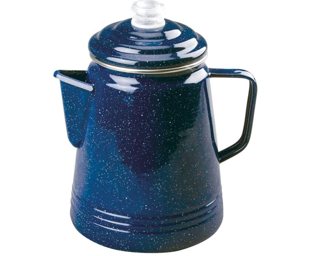 コールマン エナメル コーヒー 14カップ パーコレーター