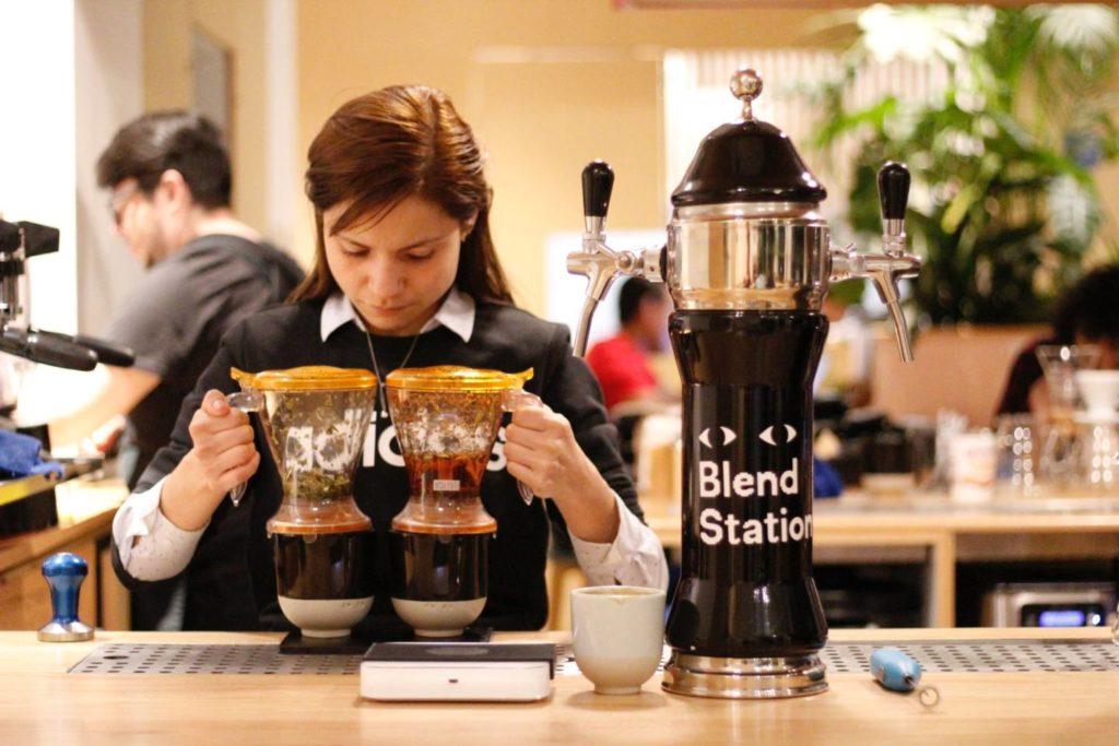コーヒーはブレンド・ストレート・レギュラーの3種類