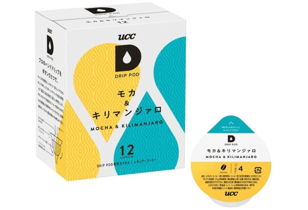 UCC ドリップポッド 専用カプセル モカ&キリマンジァロ
