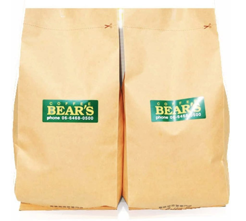 bears coffee コーヒー豆ハワイコナ エクストラファンシー
