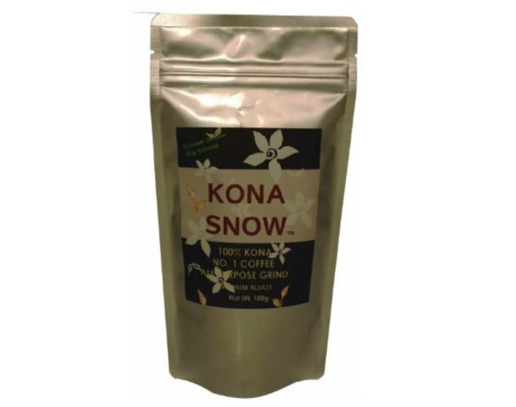 コナ・スノー 100%コナ No.1 グラインドコーヒー 100g