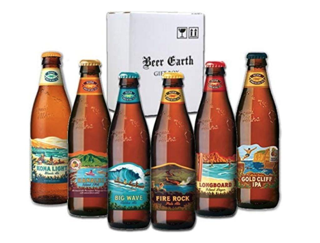 ハワイ コナビール6種類 6本飲み比べセット ハワイNo1 クラフトビール 詰め合わせ