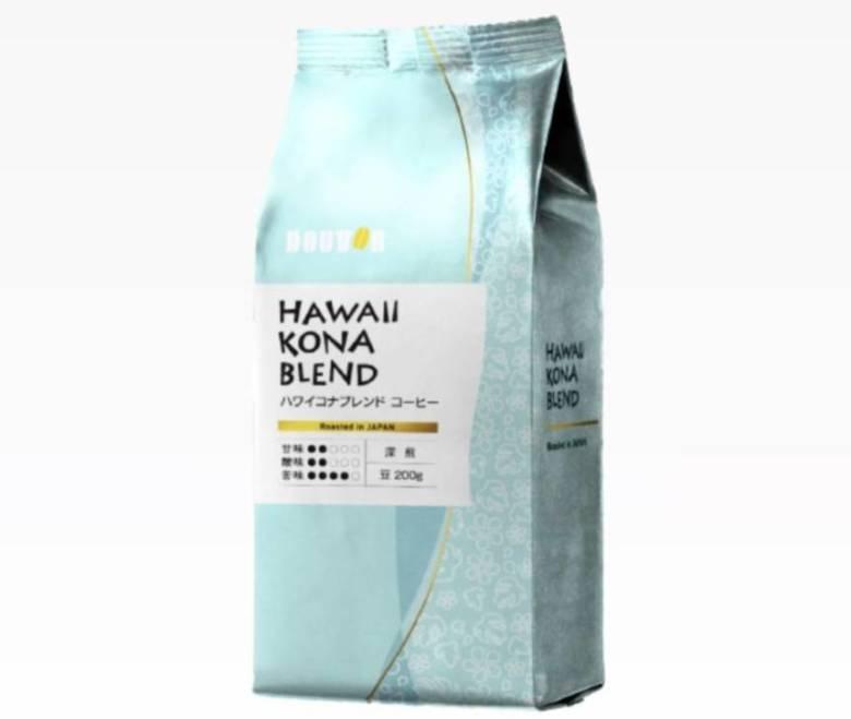 ハワイコナブレンドコーヒー 深煎り 200g