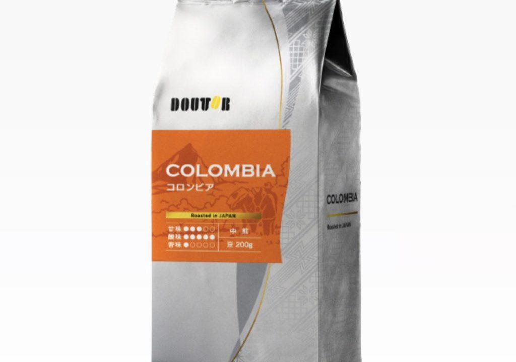 コロンビア 中煎り 200g