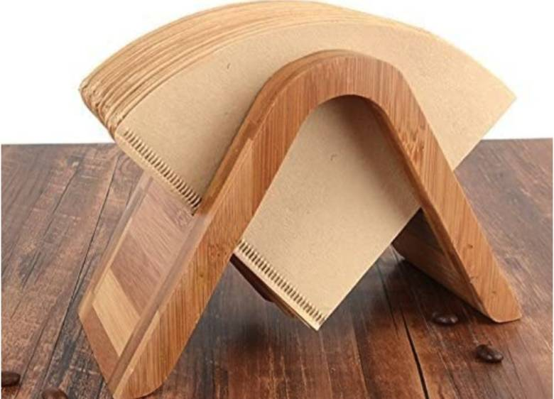 竹コーヒーフィルターホルダー 円錐型