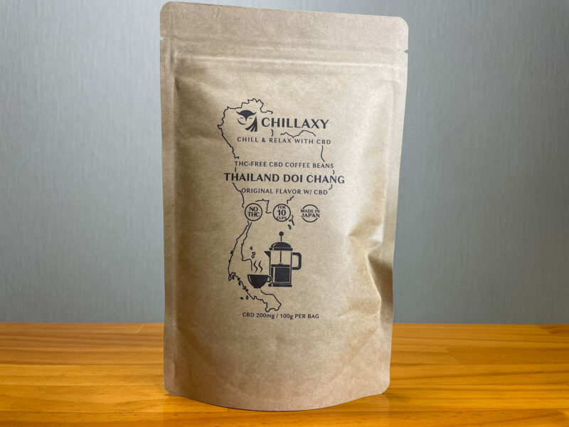 CHILLAXY CBDコーヒー タイ・ドイチャン