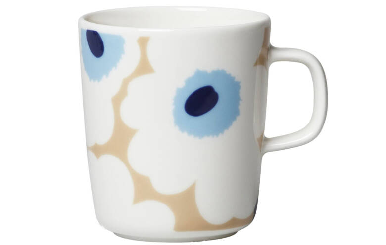 marimekko (マリメッコ) マグカップ ベージュ オフホワイト ブルー 250ml