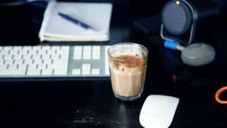 コーヒーグラスを使って優雅に楽しもう!
