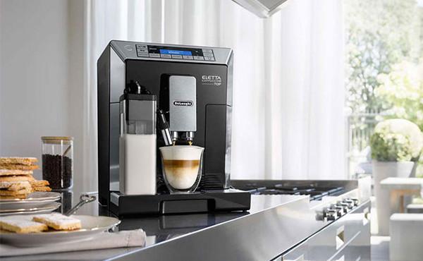 デロンギ エレッタ カプチーノ トップ全自動コーヒーマシンECAM45760B