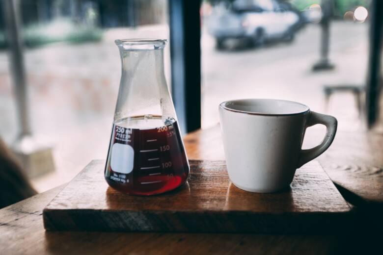 コーヒータイムをより充実するためにもビーカーを使用しよう!