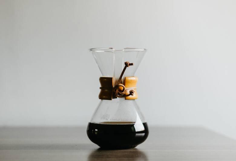 コーヒードリップにはビーカーのような雰囲気がマッチ