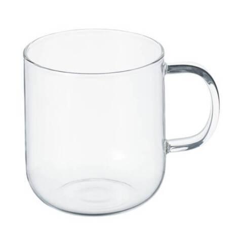 4. 「無印良品 耐熱ガラスマグカップ」