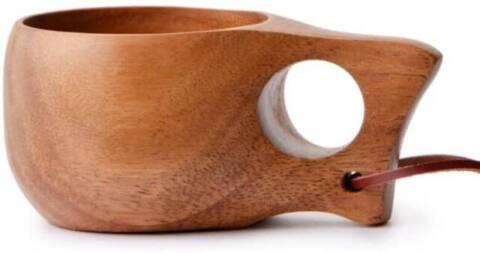6. 「ククサ 木製マグカップ」