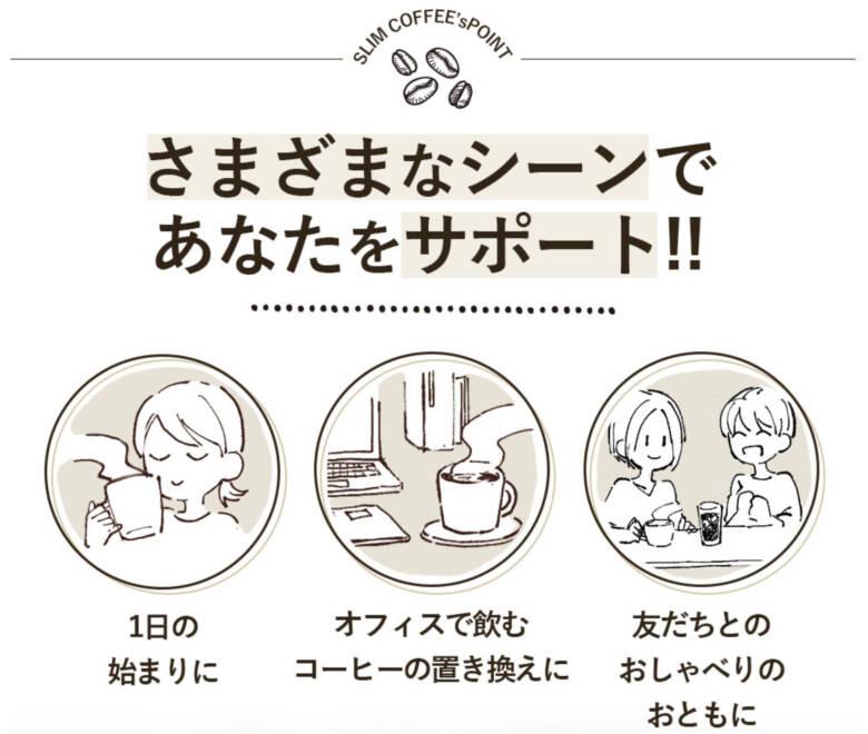 スリムコーヒー(SLIM COFFEE)の販売店情報