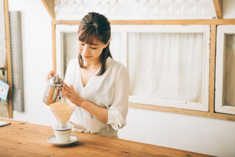 ペーパードリップ式!美味しいコーヒーの淹れ方