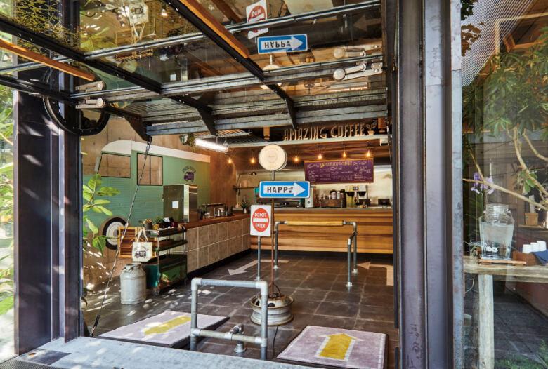 9. 「AMAZING COFFEE 東京中目黒店」