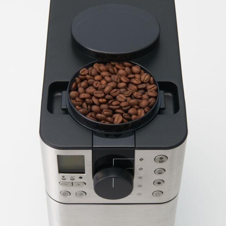 無印良品「豆から挽けるコーヒーメーカー」の使い方