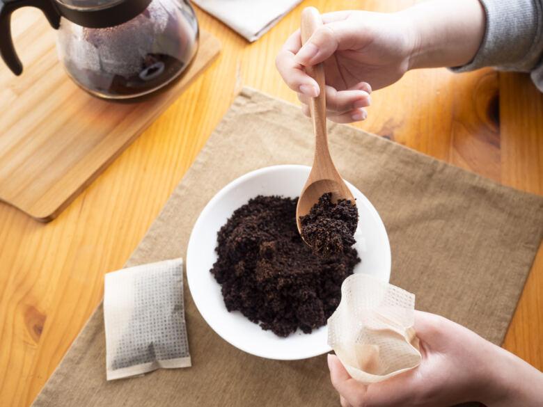 コーヒーかすのおすすめ再利用方法11選